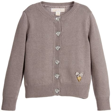 knitted jacket s grey knitted cardigan childrensalon