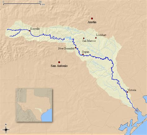 guadalupe river map texas top picks for texas summer paddling no experience required the ack