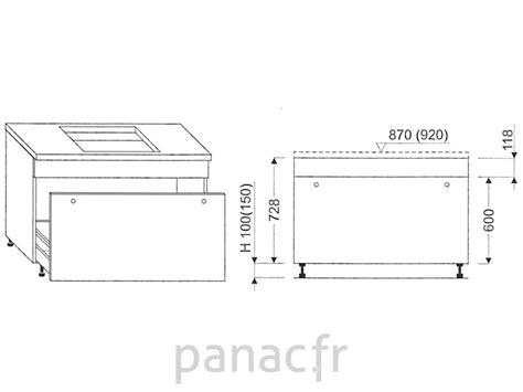 meuble sous plaque de cuisson oc 120 stm 1