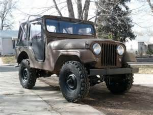 Willys Jeep Cj5 For Sale Used Jeeps For Sale 1960 Willys Cj5