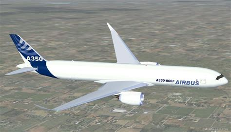 fsx airbus   cargo house colors  animated aircraft