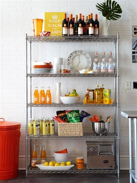 open kitchen storage solutions for renters kitchens centsational girl