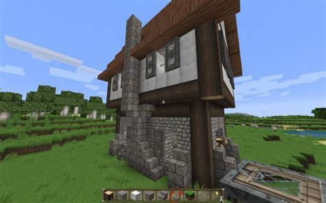 Wie Bau Ich Ein Haus by Wie Ein Mittelalterliches Haus In Minecraft Bauen