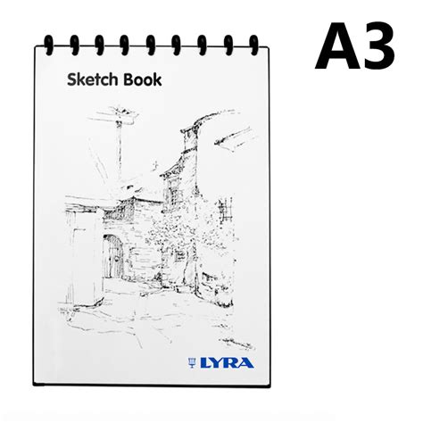 Lyra Sketch Book A3 Isi 30 Lix Supplies