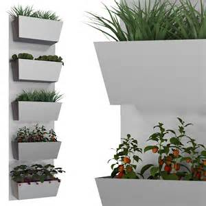potager mural 5 bacs gris mur v 233 g 233 tal jardin vertical