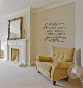 Living Room Wall Family Photos Family Wall Quotes A House Is Made With Wall And Beams Wall
