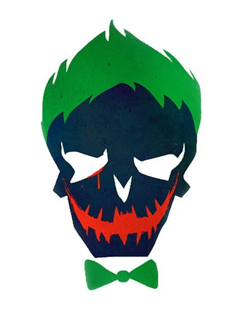 joker tattoo png the joker skull suicide squad transparent cropped by