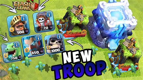 2016 new update clash of clans descubra qual vai ser a nova tropa do clash of clans new