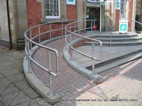 Key Clamp Handrails Curved Ramp Garden Pinterest
