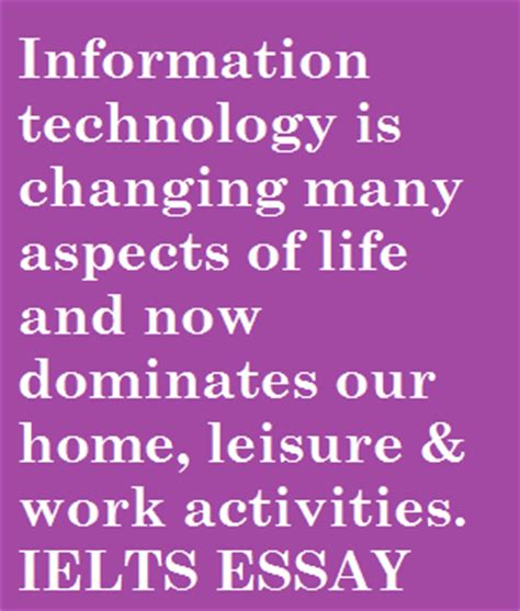 Technology In Our Lives Essay by Essay About Technology In Our Lives