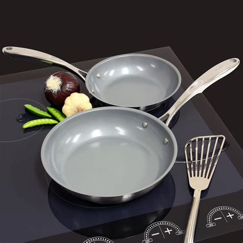 ceramic cookware on induction ceramic non stick pan induction reversadermcream
