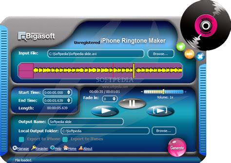 9 iphone ringtone bigasoft iphone ringtone maker