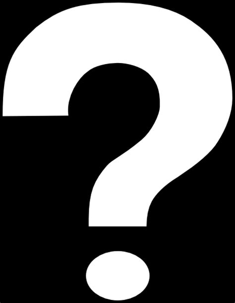 giant printable question mark inverted question mark alternate clip art at clker com