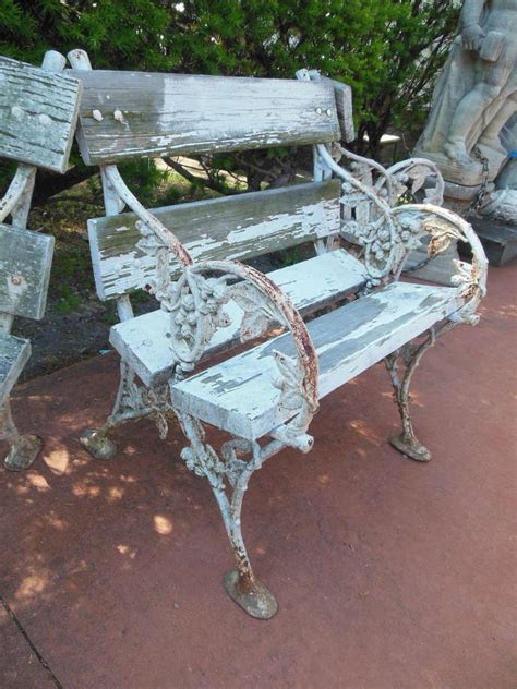 garden bench ends elaborate cast iron blackberry garden bench ends at 1stdibs