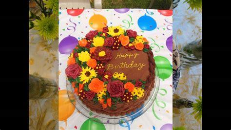 fall cakes decorating ideas fall birthday cake decorating ideas