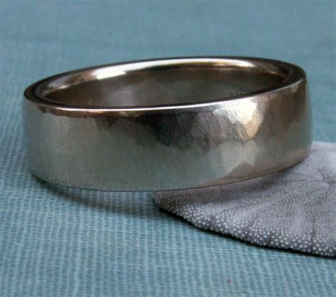 14k white gold s wedding band s ring with