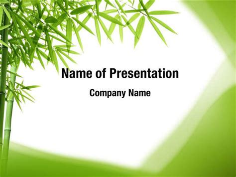 Bamboo Trees Powerpoint Templates Bamboo Trees Powerpoint Backgrounds Templates For Bamboo Powerpoint Template