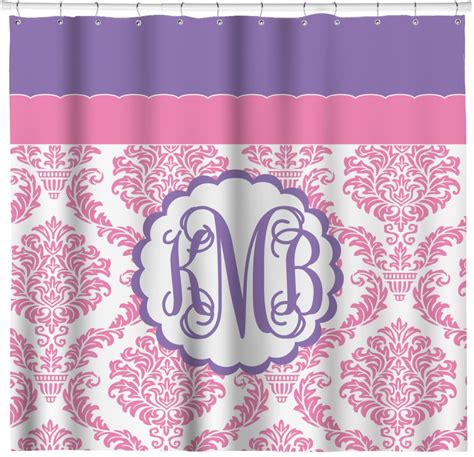 purple damask curtains personalized purple damask shower curtain 69x70 rnk shops