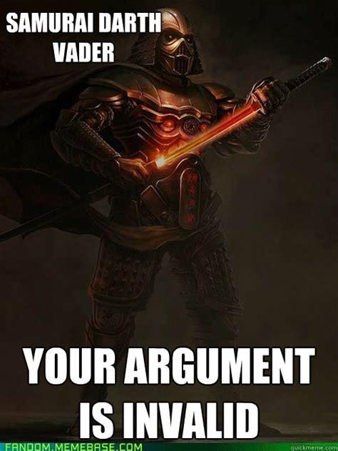 Darth Vader Meme - samurai darth vader memes quickmeme