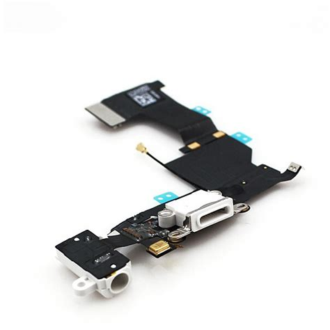 iphone 5 charging port white cell phone parts