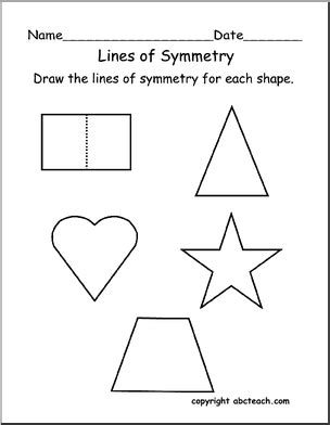 printable shapes for rotational symmetry best photos of kindergarten symmetry activities