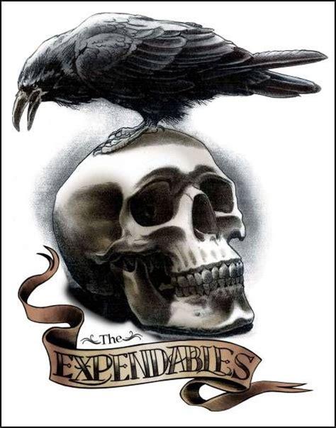 expendables tattoo hd corvos tatuagens pesquisa google corvo pinterest