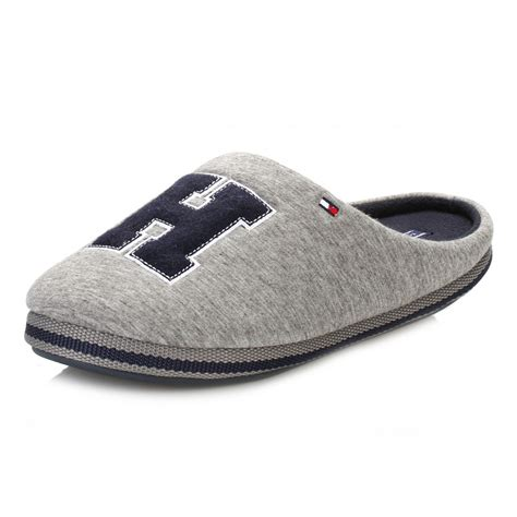 hilfiger slippers for hilfiger mens grey c2285orwall id slippers