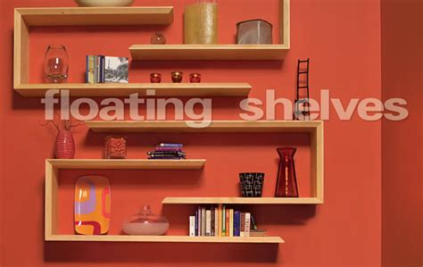woodworking projects shelves floating shelves popular woodworking magazine