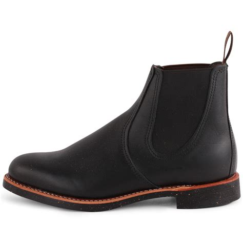 chelsea shoes wing chelsea rancher mens leather black chelsea boots