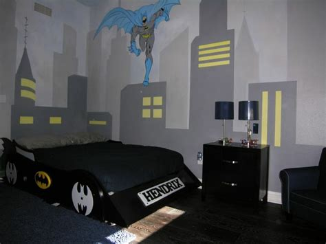 boys batman bedroom new custom built batman bed collection big sale