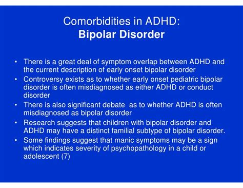 Research Paper On Misdiagnosis Of Adhd by Adhd Cme Module 3