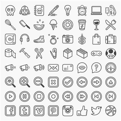 Free Online Kitchen Designer great collection of free vector icons and pictograms for
