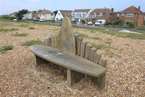 beach benches 54a shoreham beach part iii the coastal path
