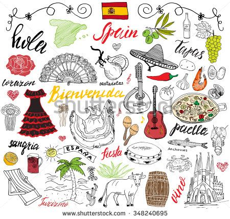 draw a pattern en español spanish stock images royalty free images vectors
