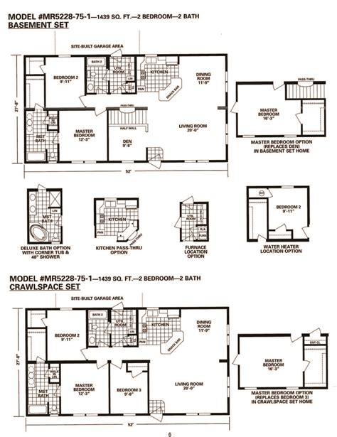 schult chateau elan fairhaven 6828 83 excelsior homes schult modular home floor plans 28 images manufactured