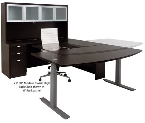 Electric Lift Desk by Electric Lift U Workstation Free Shipping