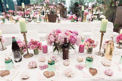 Hochzeitsdekoration Mint by Hochzeitsdeko Mint Rosa Execid