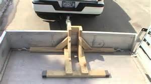 Dirt Bike Front Tire Holder How To Build A Motorcycle Wheel Chock Transport Your