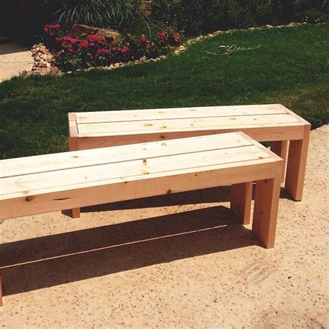 build simple outdoor bench pin by marcia randall on diy furniture pinterest