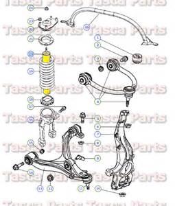 Jeep Commander Front Suspension New Oem Rh Or Lh Front Suspension Shock Absorber Strut