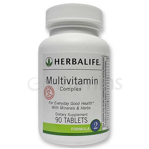 Herbalife 10 Day Detox Price by Herbalife Multivitamin Complex 90 Tablets Evitamins