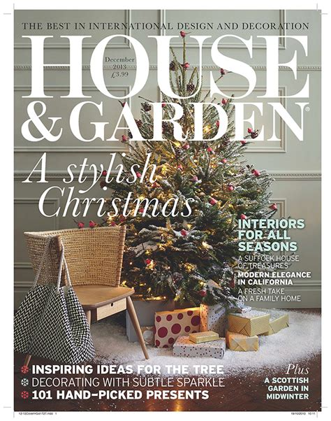 home and house magazine house garden cover december 2013 location studio for
