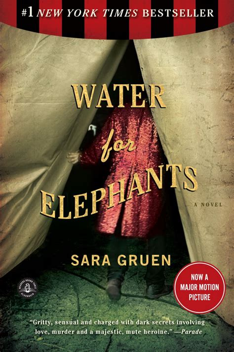Author Gruen by Kate S Critique Book Water For Elephants