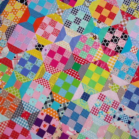 Nine Patch Quilt Tutorial by Spool And Nine Patch Quilt A Tutorial And Templates