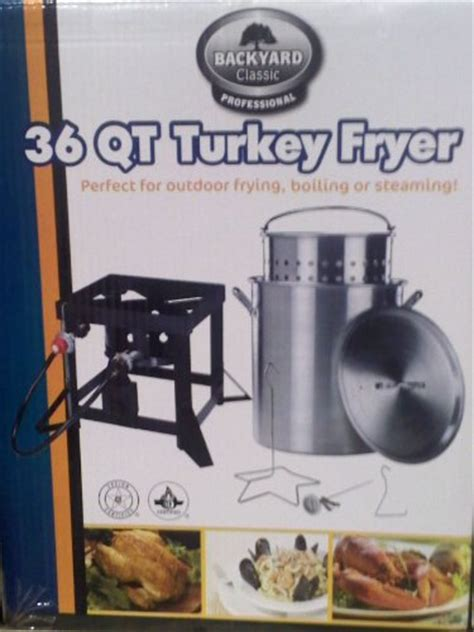 backyard turkey fryer get the lowest price backyard classic professional 36 qt