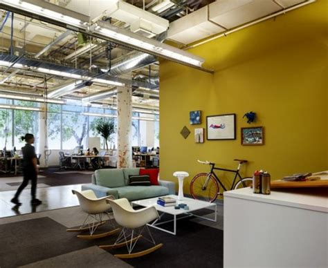 facebook office design google office versus facebook office