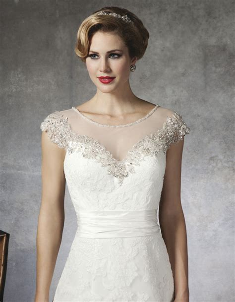 sleeve wedding dresses getting modest look with beaded wedding dresses with