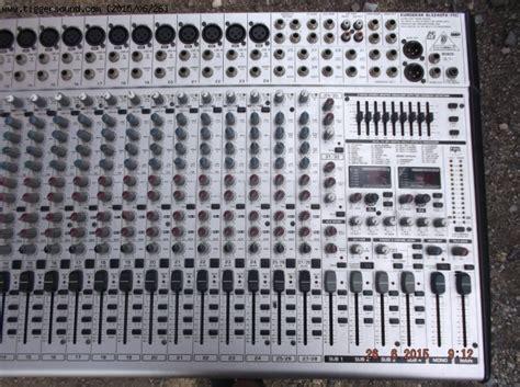 Mixer Behringer Sl3242fx Pro ขาย mixer behringer eurodesk sl3242fx pro ขายแล วคร บ ใช บ ญช กลาง