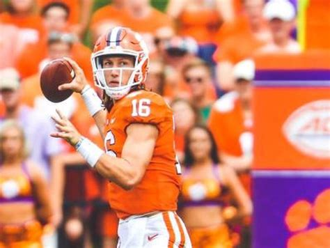 clemson names trevor lawrence starting qb  syracuse