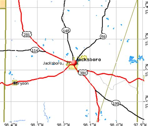 jacksboro texas map jacksboro texas tx 76458 profile population maps real estate averages homes statistics